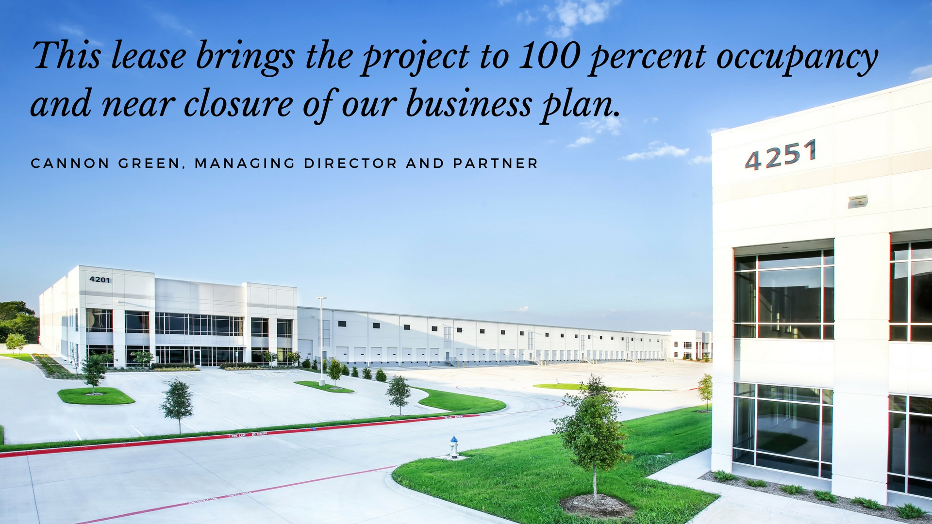 Stream Secures New Industrial Lease at Northport 35 Business